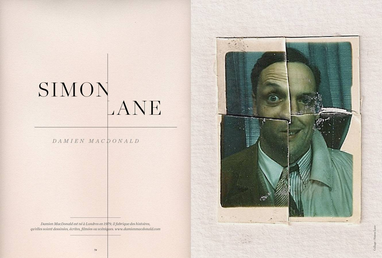 Texte de Damien MacDonald, Simon Lane