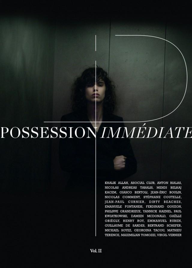 Possession Immédiate – volume 2 – Couverture