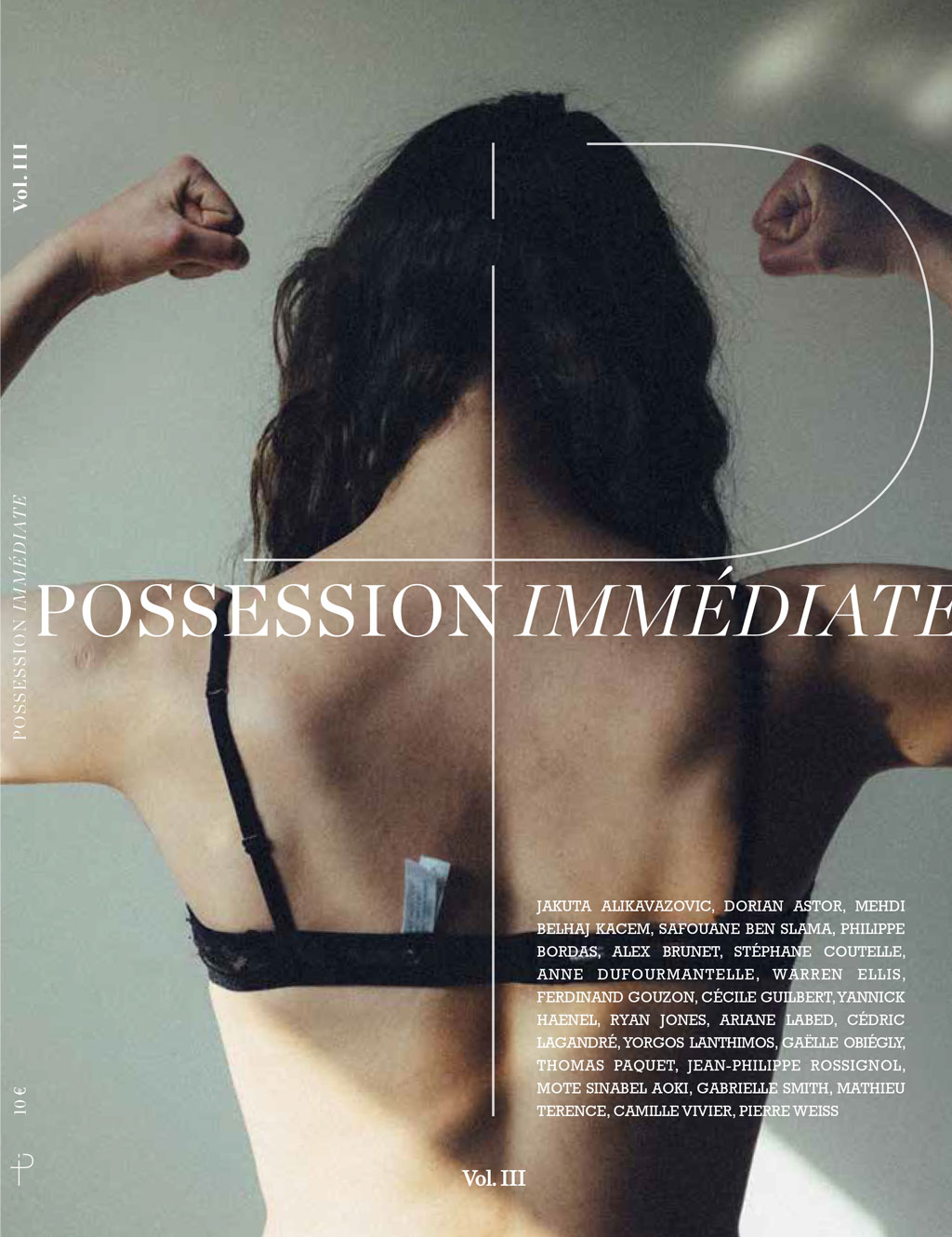 Possession Immédiate, volume 3. Couverture : Ariane Labed par Yorgos Lanthimos