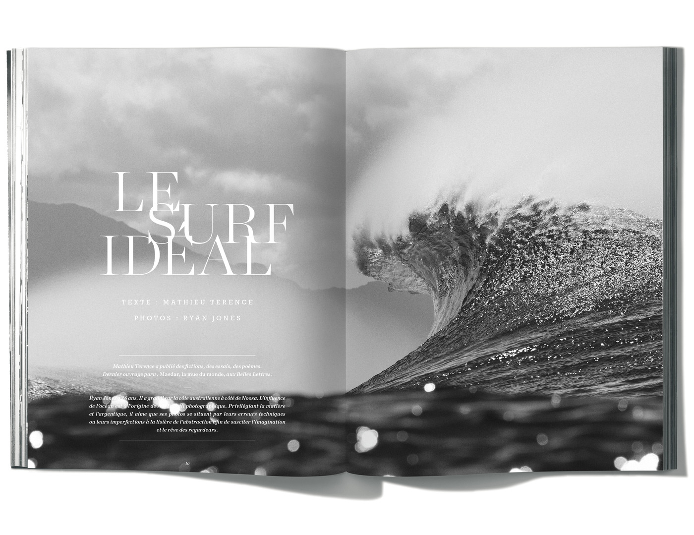 Texte de Mathieu Terence, Photographies de Ryan Jones, Le Surf Ideal