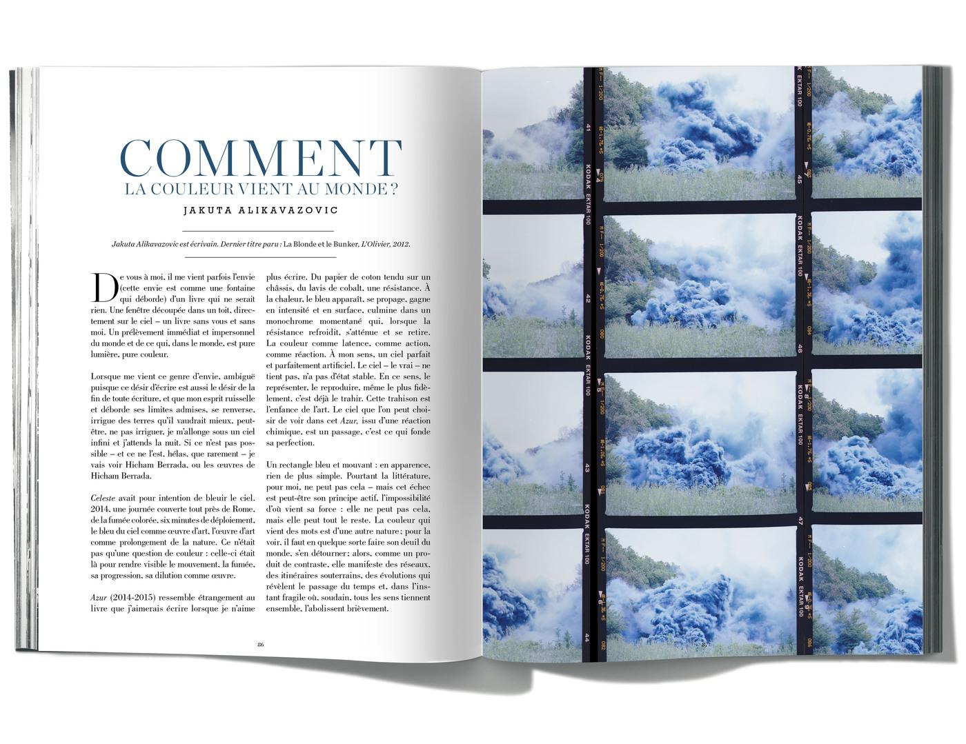 Texte de Jakuta Alikavazovic, Comment la couleur vient au monde