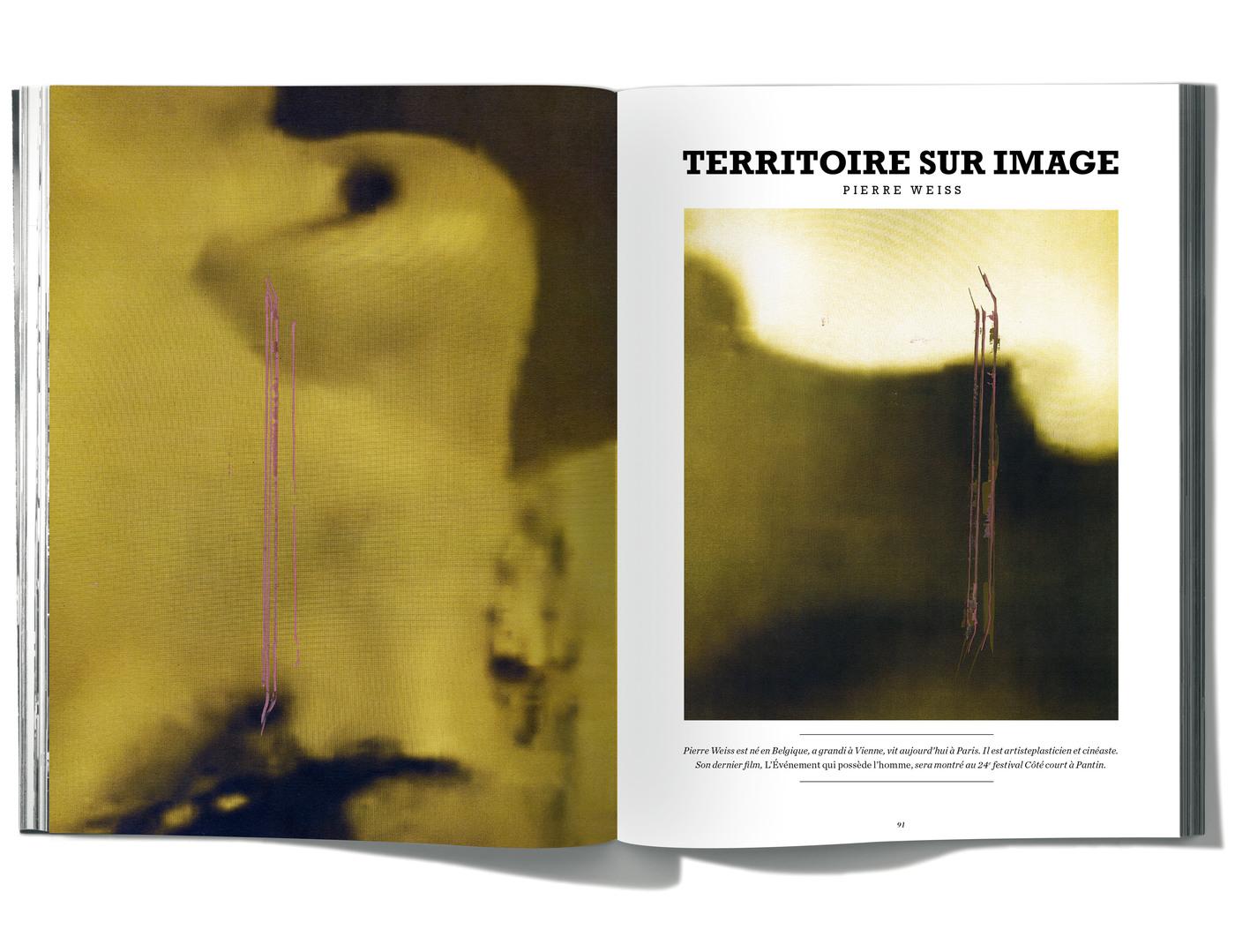 Photographies de Pierre Weiss, Territoire sur image