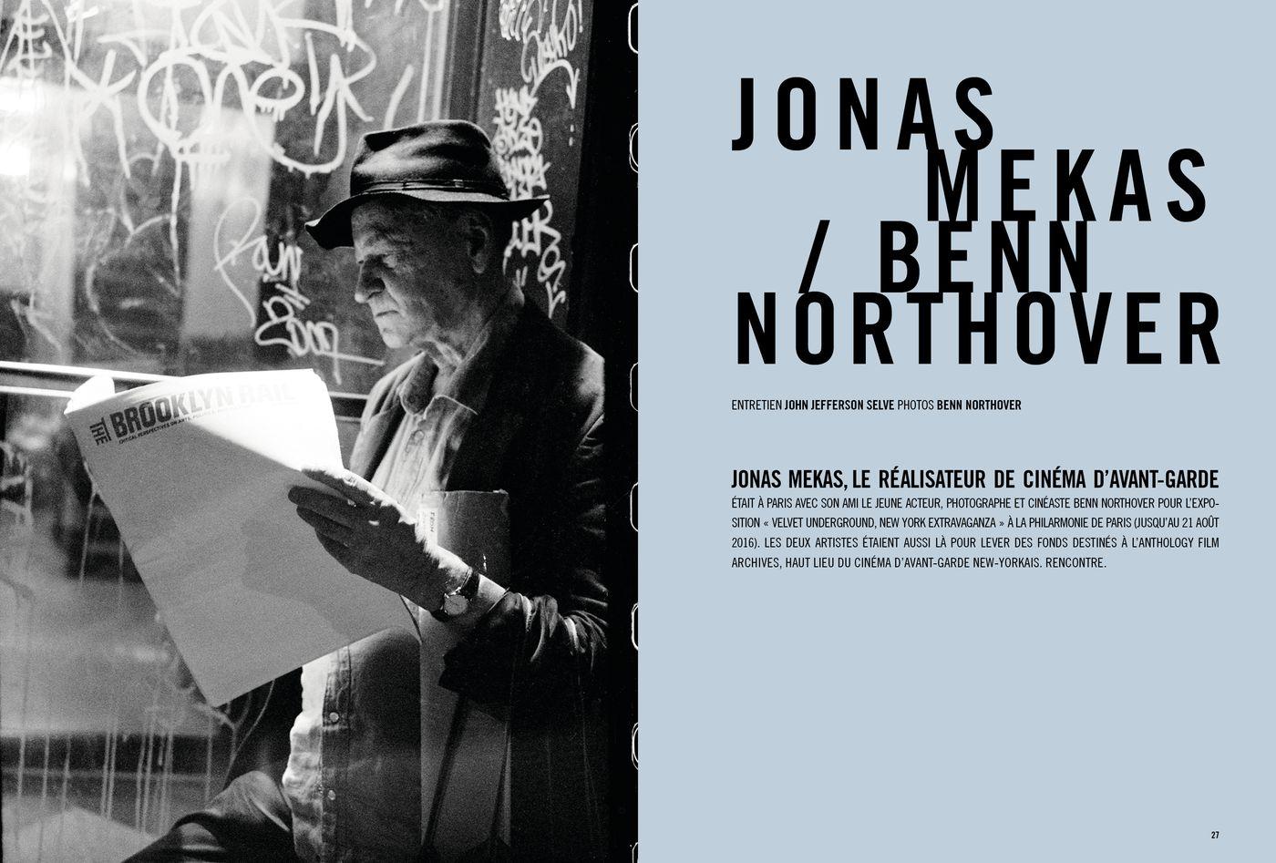 Possession Immédiate Volume 5 - Entretien de John Jefferson Selve avec Jonas Mekas et Benn Northover