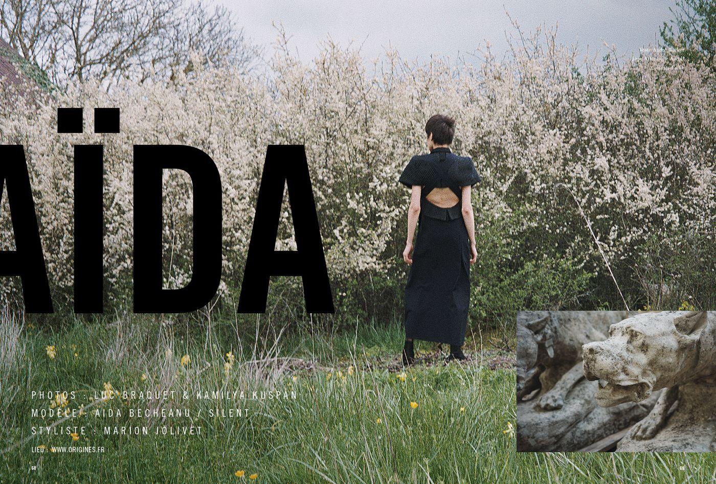 Possession Immédiate Volume 5 - Photographies de Luc Braquet et de Kamilya Kuspan avec Aida Becheanu, Aida