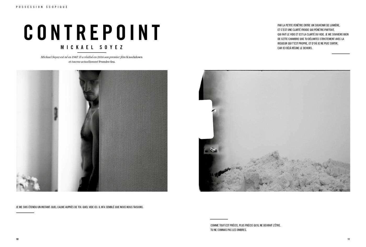 Photographies de Mickael Soyez, Contrepoint