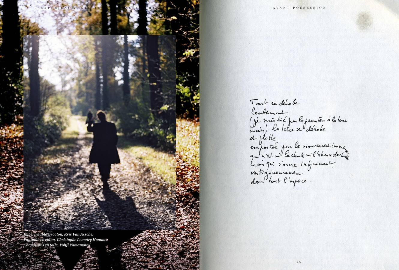 Mode: série de Giasco Bertoli, L'Expérience extérieure