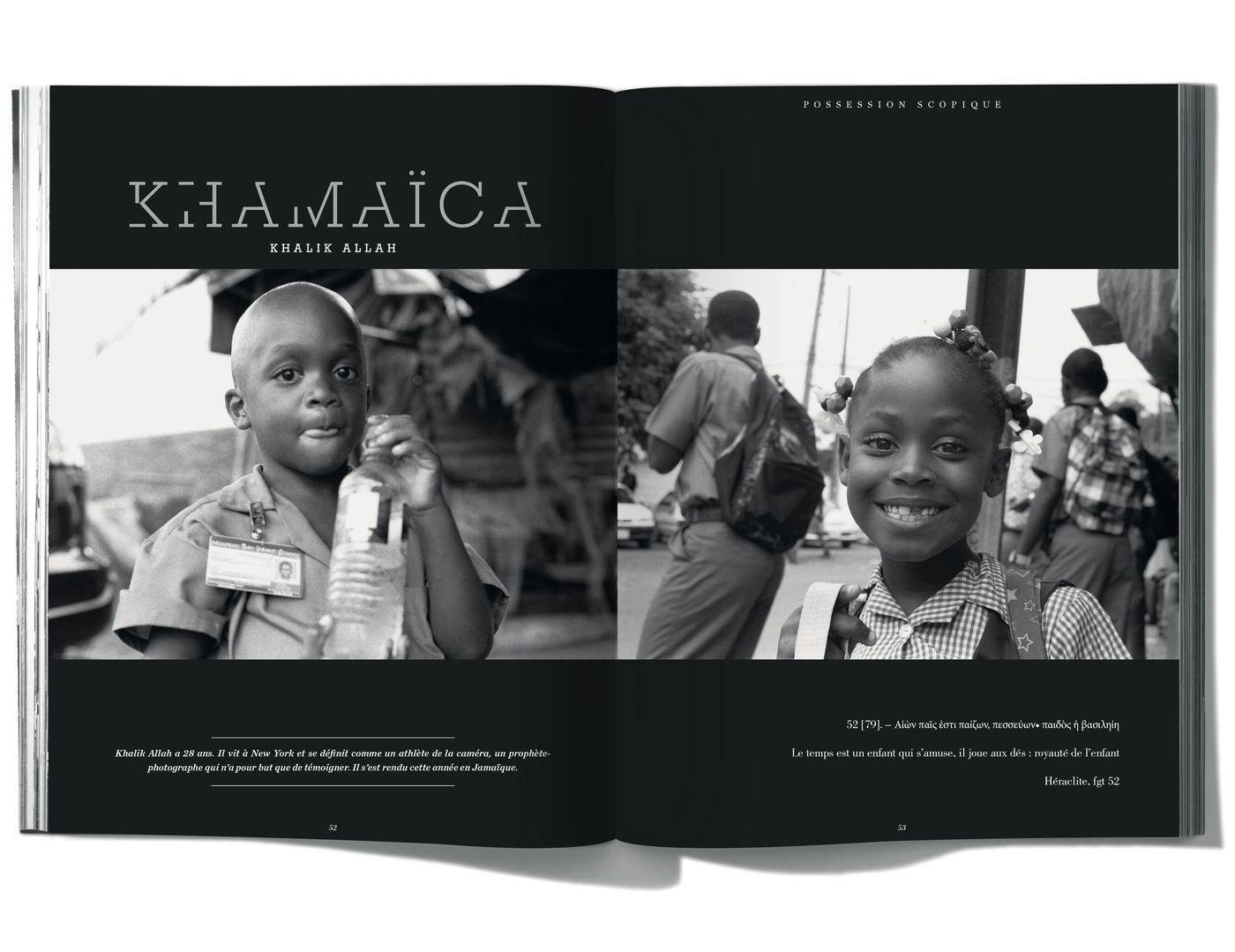 Photographies de Khalik Allah, Khamaïca