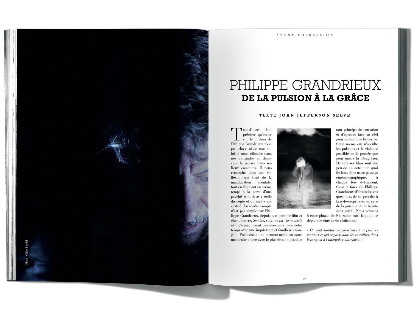 Texte de John Jefferson Selve, Philippe Grandrieux, De la pulsion à la grâce