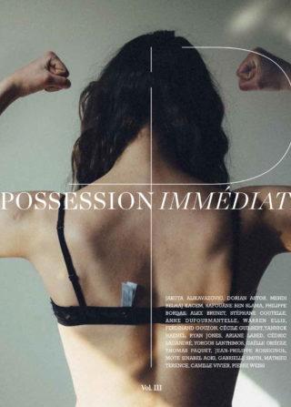 Possession Immédiate, volume 3. Couverture : Ariane Labed par Yorgos Lanthimos