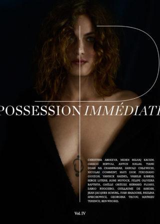 Possession Immédiate Volume 4, couverture , Aomi Muyock photographiée par Giasco Bertoli