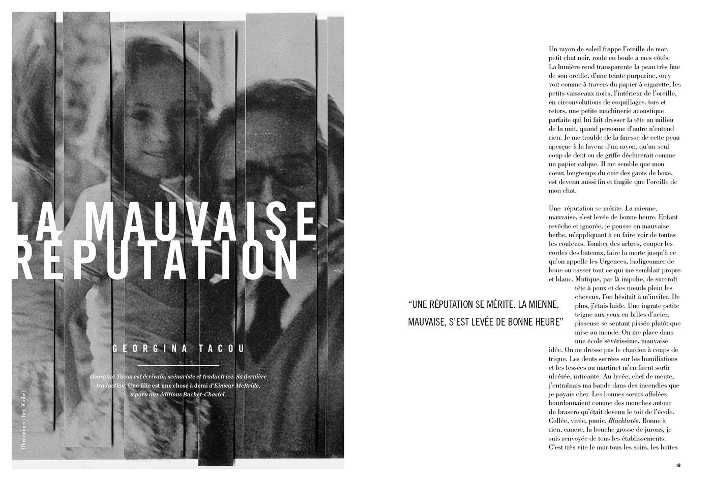 Possession Immédiate Volume 5 - Texte de Georgina Tacou, La Mauvaise réputation