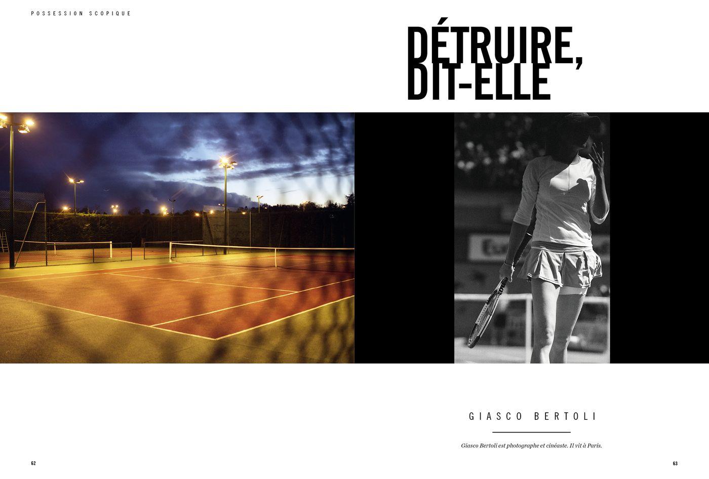 Possession Immédiate Volume 5 - Photographies de Giasco Bertoli, Détruire dit-elle