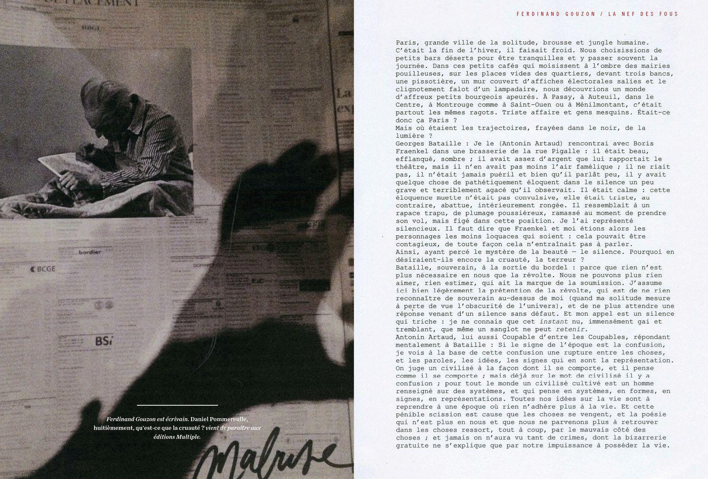 Possession Immédiate Volume 5 - Collage de Ferdinand Gouzon, La nef des fous