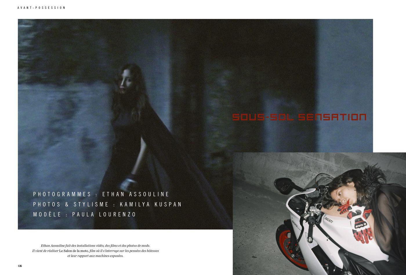 Possession Immédiate Volume 5 - Photographies d'Ethan Assouline et de Kamilya Kuspan, Sous-sol sensation