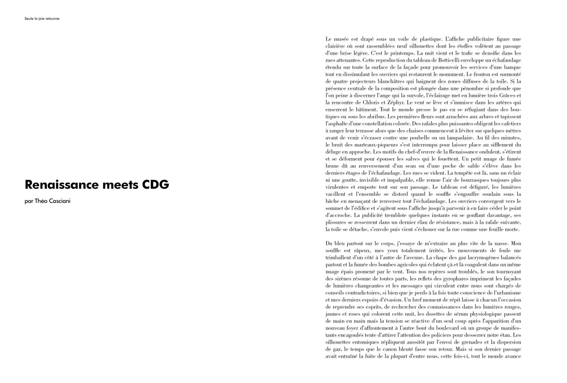 Renaissance Meet CDG par Théo Casciani (extrait)