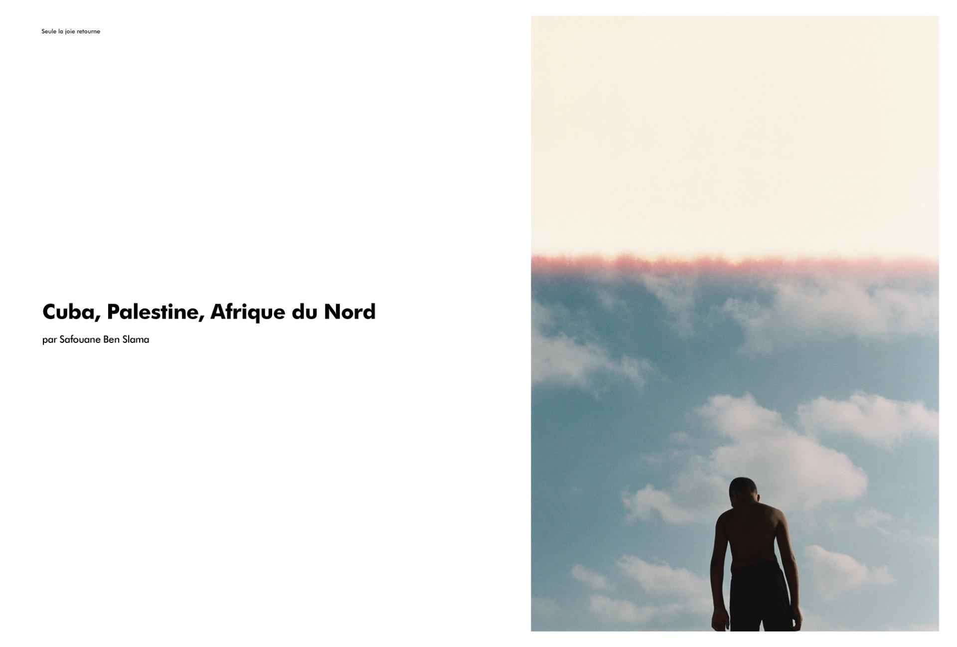 Cuba, Palestine, Afrique du Nord par Safouane Ben Slama (extrait)